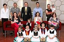 V Dačicích přivítali nejmladší občánky města. Foto: archiv MÚ Dačice