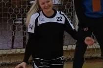 Hradecká házenkářka Kristýna Plucarová je nejlepší střelkyní I. ligy starších dorostenek.