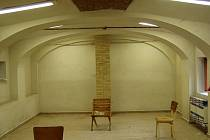 Zrekunstruovaný prostor chráněné dílny v Plasné.