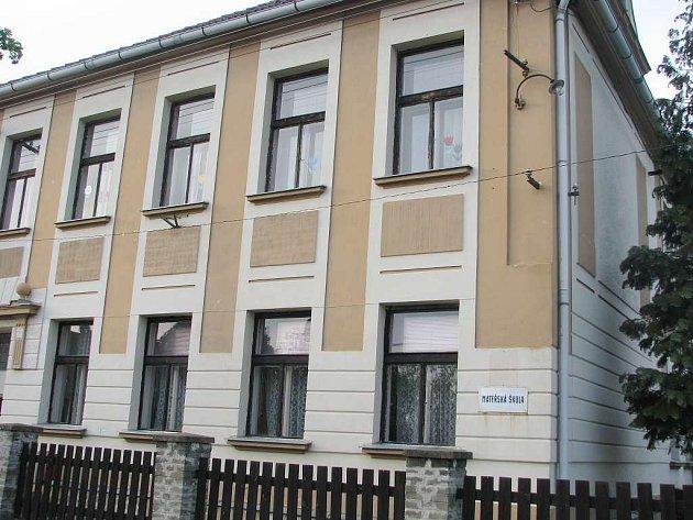 Mateřská školka v Klikově.