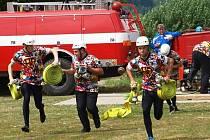 Jindřichohradecká hasičská liga pokračovala soutěží v Kunžaku.