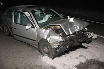 Ve čtvrtek časně ráno se u Penny v Jindřichově Hradci stala nehoda.