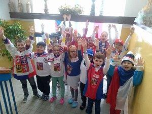 Olympijská atmosféra pohltila 5. základní školu v J. Hradci