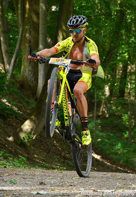 Jindřichohradecký jezdec Prodoli Racing Teamu David Kníže.