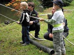Ze života dobrovolných hasičů v Jindřichově Hradci.