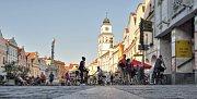 Masarykovo náměstí v Třeboni.