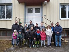 Děti z rybářského kroužku v Suchdole nad Lužnicí se vydaly do úpravny vody Hamr - Kostky.