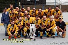 Hokejbalisté SK Suchdol nad Lužnicí obsadili v II. lize druhou příčku.