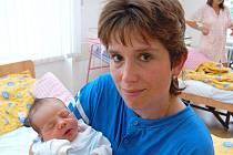 Adam Pricl ze Studené, 14. září 2009, 3390 gramů, 52 centimetrů