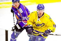 Hokejisté Vajgaru doma podlehli Řisutům 4:5 v prodloužení.