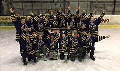 Mladí žáci HC Střelci J. Hradec se stali vítězi turnaje v Soběslavi.
