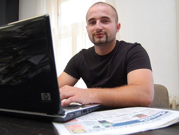 Jakub Hubinger je právě on-line
