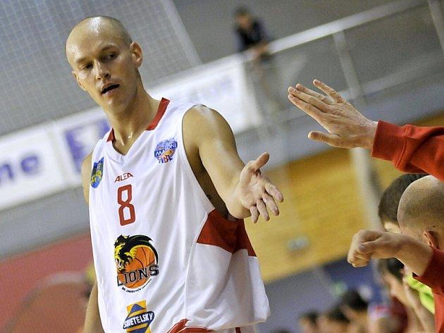 Kapitán basketbalistů Lions Jan Pavlík.