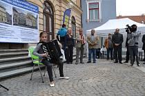 V Třeboni začala rekonstrukce bývalé radnice, která v budoucnu bude sloužit potřebám základní umělecké školy.
