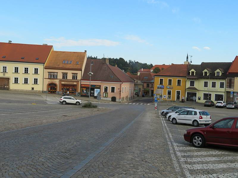 Centrum Dačic v současnosti.