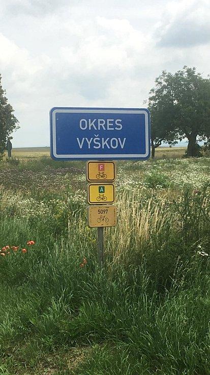 Šestý den vyšla Martina Šlincová z Velkého Ratmírova na trasu Brno Tuřany - Bučovice o délce 30 kilometrů, co se jí honilo hlavou?