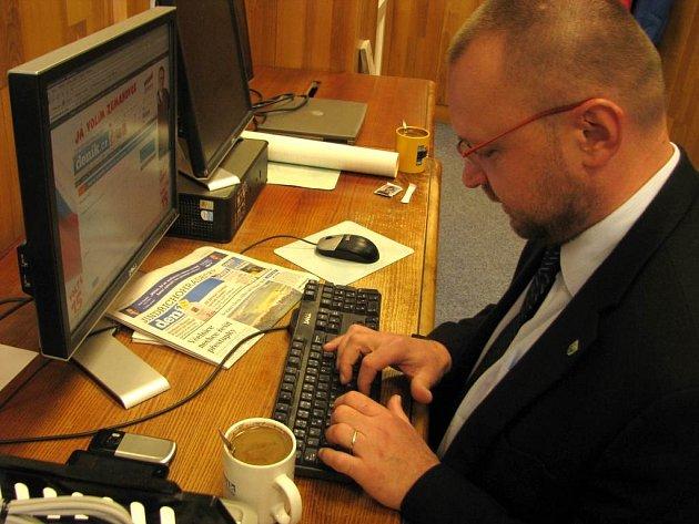 Jihočeský lídr KDU-ČSL odpovídá on-line.