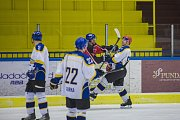 Hokejisté Vajgaru na svém ledě porazili Strakonice 5:3.