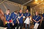 Zástupci Stráží z celého Česka si letos připomněli starobylou tradici obránců zemských hranic v jihočeské Stráži nad Nežárkou.