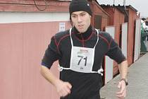 Vítěz 13. ročníku Mikuláškého duatlonu Martin Novák.