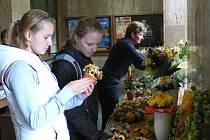 Květinové odpoledne v Jindřichově Hradci spojené s módní přehlídkou.