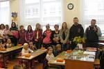 První školní den v základní škole v Nové Včelnici.