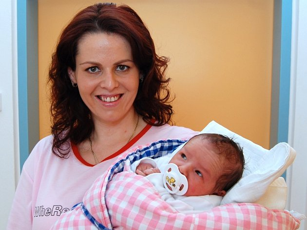Ellen Pátková z Českého Rudolce, 24. ledna 2009, 3200 gramů, 50 centimetrů