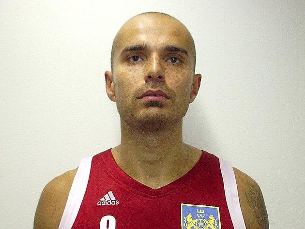 Nová posila jindřichohradeckých basketbalistů Michal Norwa.