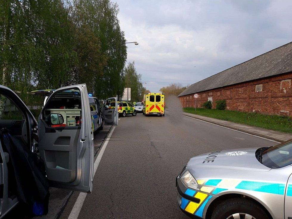Při střetu s autem cyklista v Jindřichově Hradci u cihelny zemřel. foto: Policie ČR