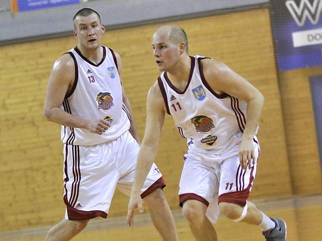 Opory Lions Jan Tomanec (vlevo) a Erik Eisman.