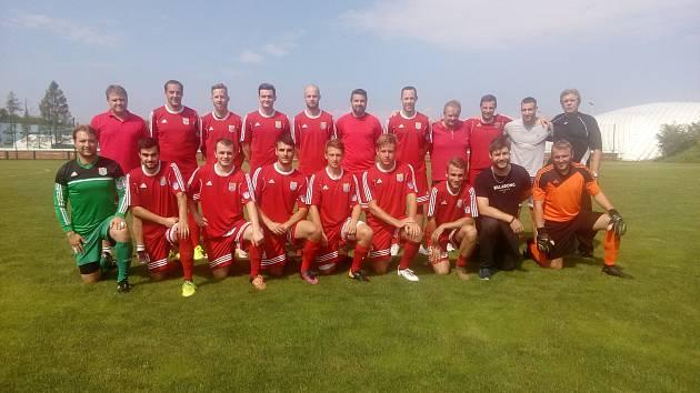 Fotbalisté Třeboně pro nadcházející sezonu v krajském přeboru výrazně rozšířili kádr.