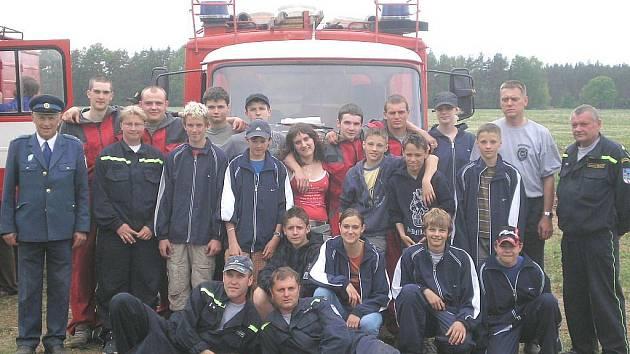 Ze života hasičů v Nové Bystřici.