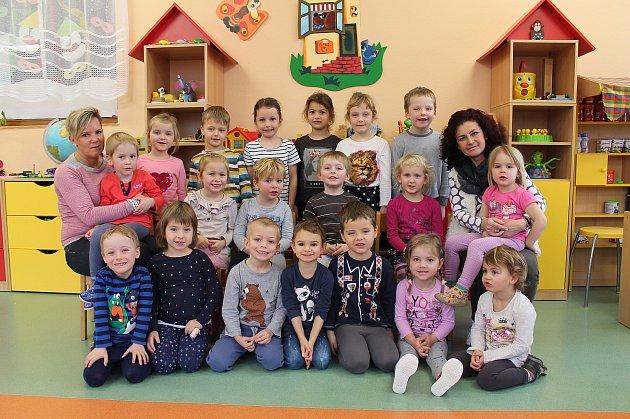 Do své třídy Zvoneček na odloučeném pracovišti 1.mateřské školy vJindřichově Hradci Pod Kasárny se děti vždy těší.