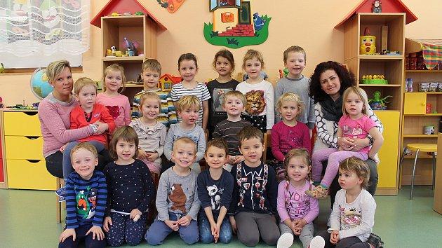 Do své třídy Zvoneček na odloučeném pracovišti 1. mateřské školy v Jindřichově Hradci Pod Kasárny se děti vždy těší.