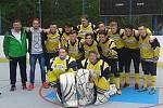 Suchdolští hokejbaloví dorostenci vybojovali 5. místo v Extralize mladšího dorostu.