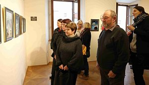 Výstava I. Hüttnerové v Třeboni