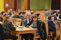 Policejní beseda pro seniory u příležitosti MDŽ v Kardašově Řečici.