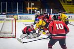 Základní část krajské hokejové ligy má před sebou závěrečná dvě kola.