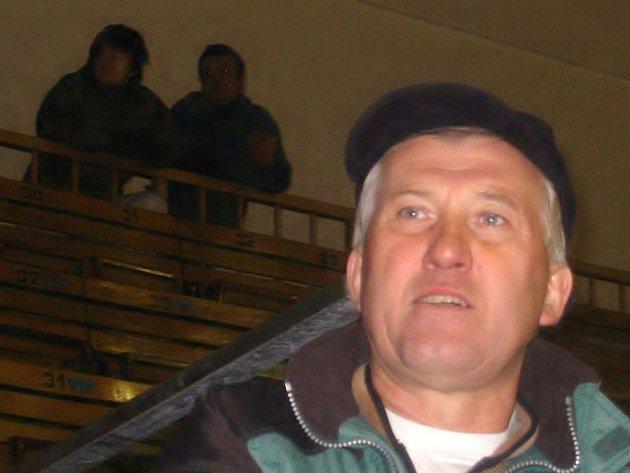 ŠÉF. Předseda HC Velká Radouň Miloslav Beran.