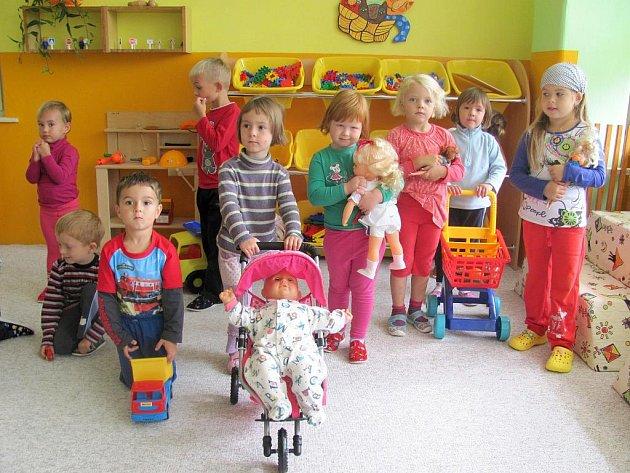 Nová třída ve 3. mateřské škole.