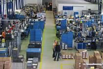 Ilustrační foto. Výrobní hala firmy Pollmann v Jindřichově Hradci.