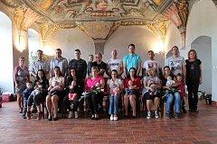 V Hradci počátkem května přivítali do života nové občánky.