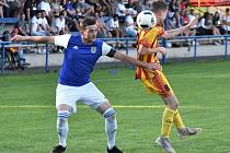 Fotbalistům Třeboně se v současné době příliš nedaří. na snímku kapitán Karel Holzepl.