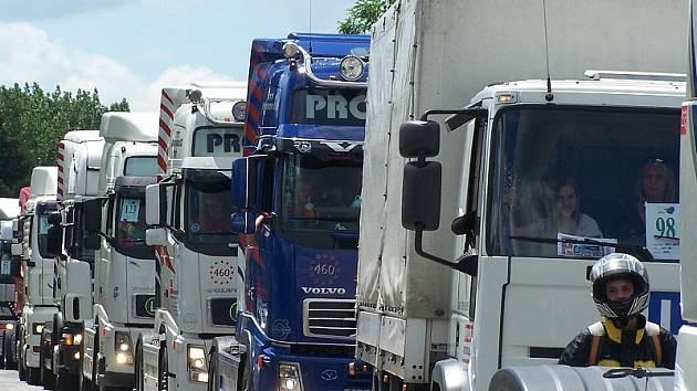 Truckshouw Lužnice