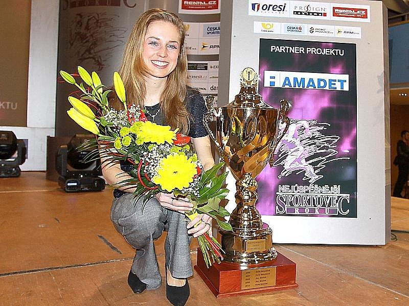 V anketě Nejúspěšnější sportovec roku 2011 okresu J. Hradec zvítězila mezi dospělými Pavla Schorná ze Starého Města a obhájila tak loňský triumf.