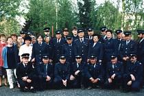 Dobrovolní hasiči v Třeboni.