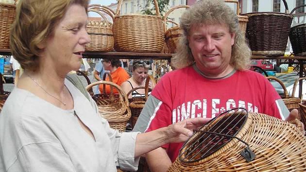 Třeboňské trhy.