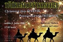 Tříkrálový koncert v Lomnici nad Lužnicí.