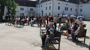 Otevření zámeckého parku v Třeboni