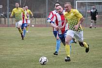 Jindřichohradečtí fotbalisté v jediném jarní divizním utkání nedohrané sezony porazili Beroun vysoko 6:1.